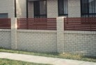 Abington NSW Brick fencing 13